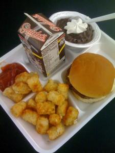 school lunch