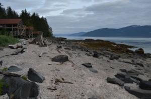 Petroglyph Beach in Wrangell. (Katarina Sostaric/KSTK)