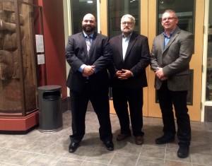 Aaron McPherson, Jeffrey Lyle and Robert Rang