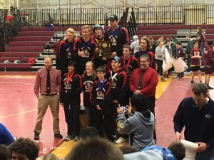 Wrangell wrestling takes top spot at regionals  in 2A division (Photo courtesy of Julie Decker)