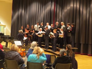 Wrangell Community Chorale xmas concert