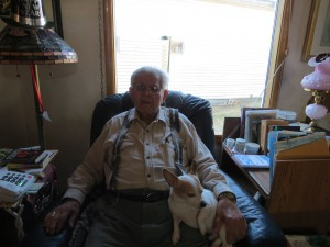 Lawrence Bahovec turned 100 years old on January 4, 2017.
