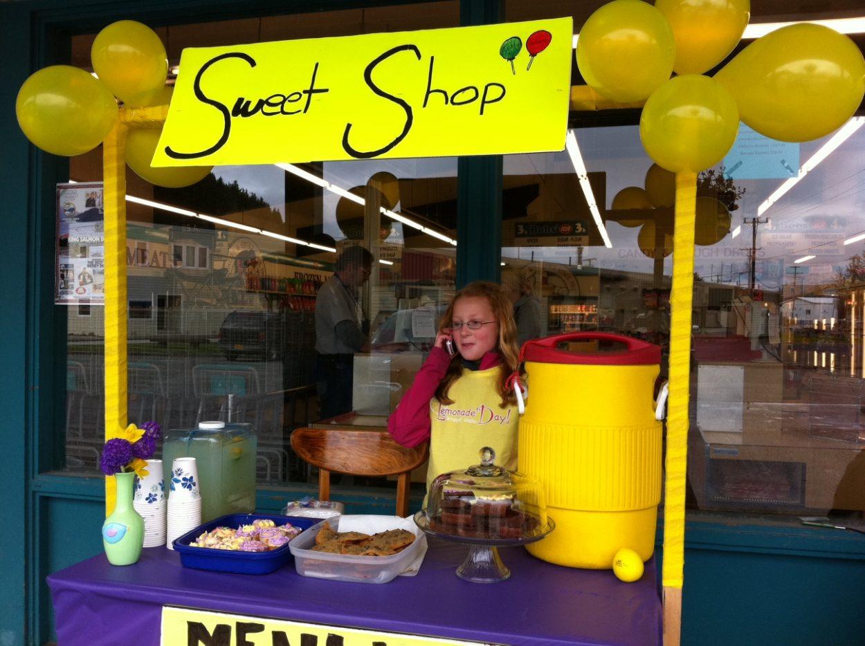 'Lemonade Day' proves sweet success in Wrangell