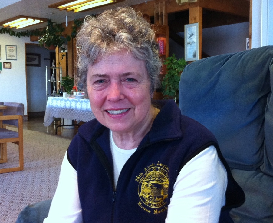 State Rep. Sharon Cissna makes stop in Wrangell