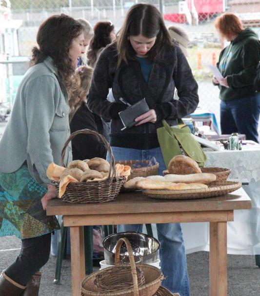 Wrangell holds first community market