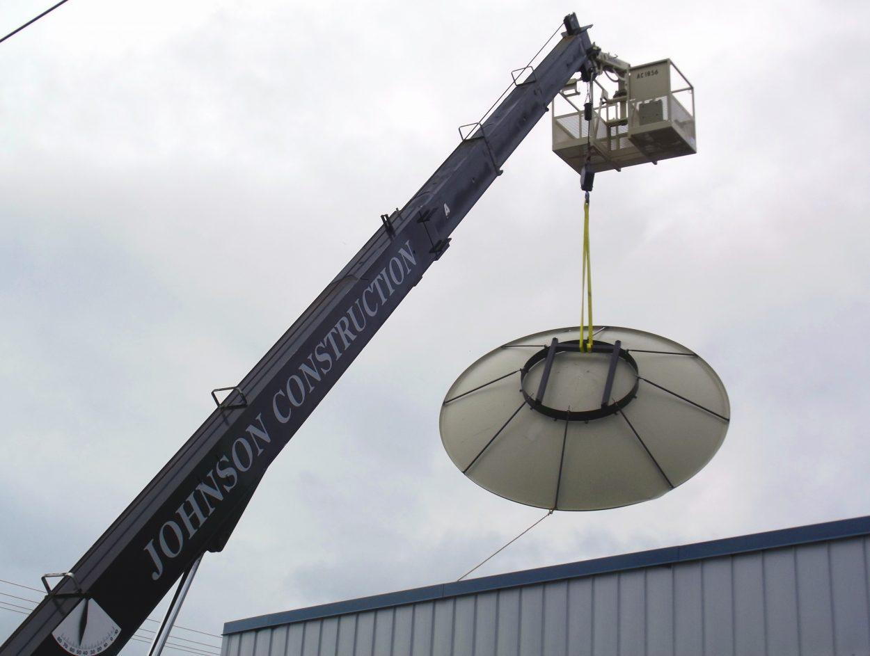 KSTK installs new satellite