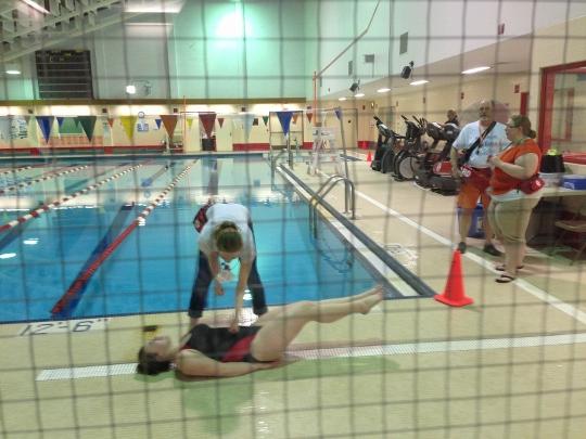 Swim club dives into Swim-A-Thon