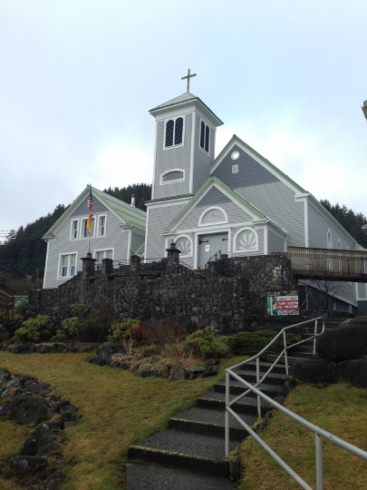 Alaska's oldest Catholic parish church gets a makeover