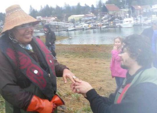 Paddling to proposal