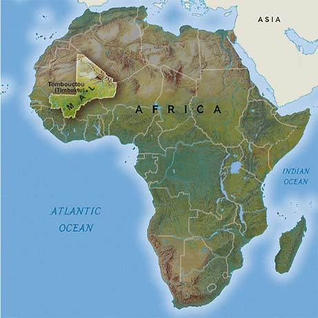 From here to Timbuktu, Genevieve Murphy talks Mali