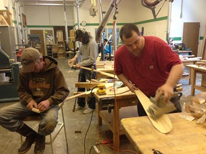 Suicide prevention through paddle-making