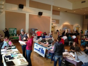 Wrangell Medical Center health fair - Photo by Shady Grove Oliver/KSTK