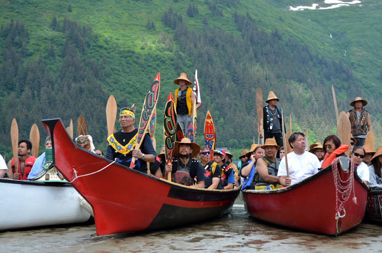 Wrangell paddlers complete journey to Celebration 2014