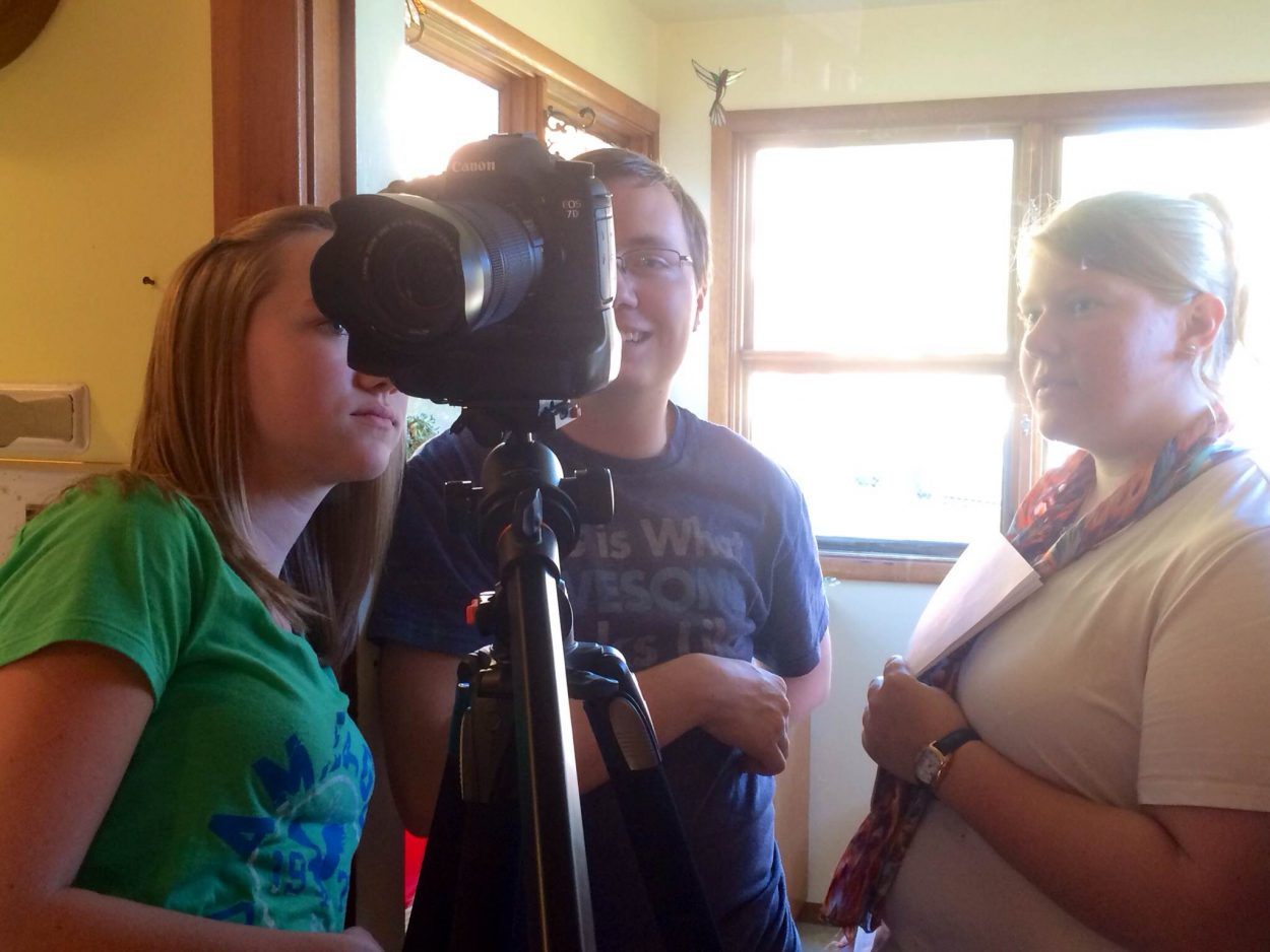 Film student directs movie in Wrangell