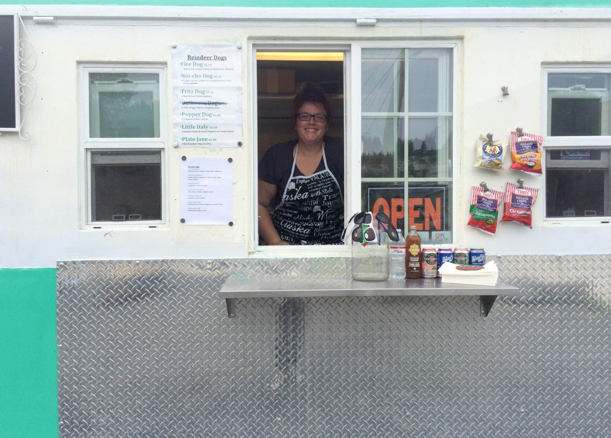 Food truck brings new organic cuisine, old iconic sunglasses to Wrangell