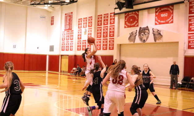 Lady Wolves sweep Haines, boys split games on the road