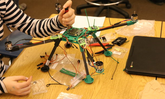 Drones, robots and paper circuits, Wrangell students take hands-on lesson in tech