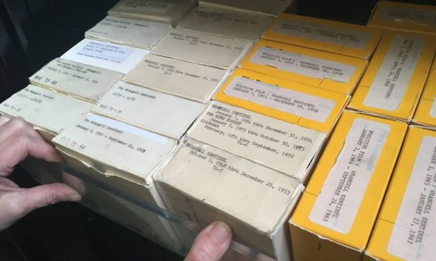 Wrangell's public library hopes to digitize old issues of the Wrangell Sentinel