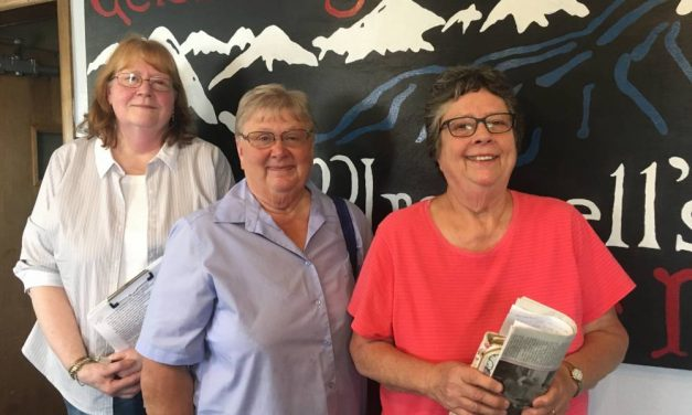 Talk on the Rock 64: Patti, Olinda and Janet on the Wrangell Cancer Care Program