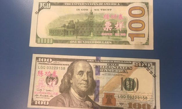 Fake, play money circulates around Southeast town